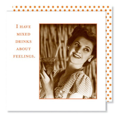BEVERAGE NAPKINS - I HAVE MIXED DRINKS