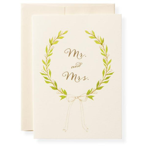 MR AMD MRS - GREETING CARD