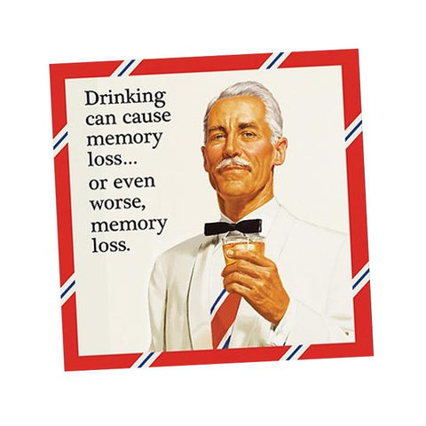 BEVERAGE NAPKINS - DD - MEMORY LOSS