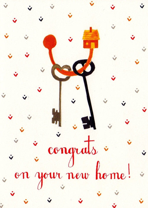 NEW HOME - MRB - CONGRATS ON YOUR NEW HOME!