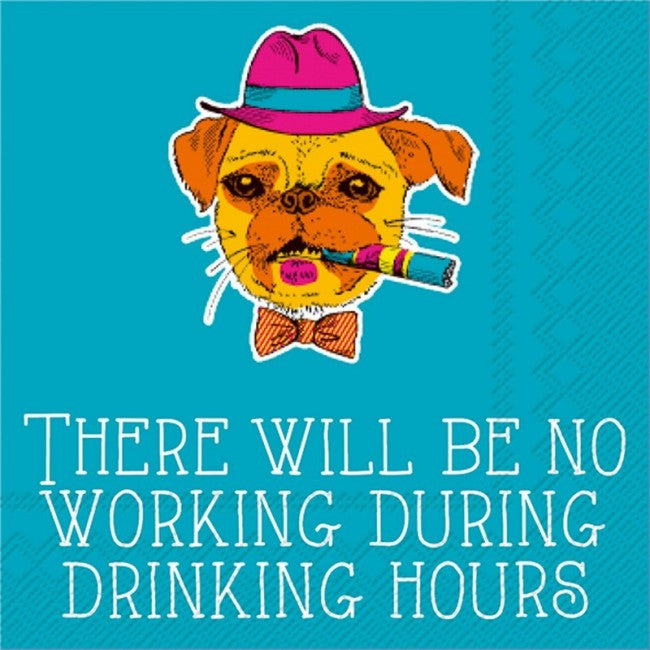 BEVERAGE NAPKINS - RAB -  NO WORKING DURING