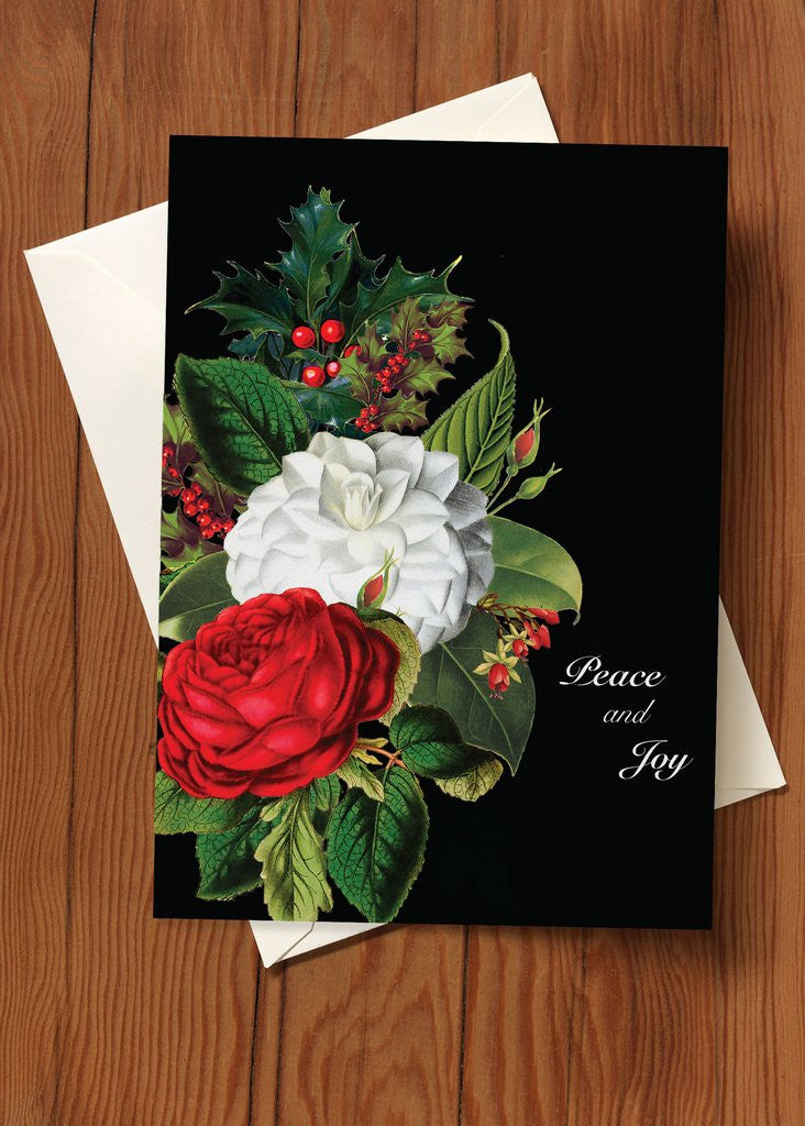 CHRISTMAS - PFD - FLORAL PEACE AND JOY