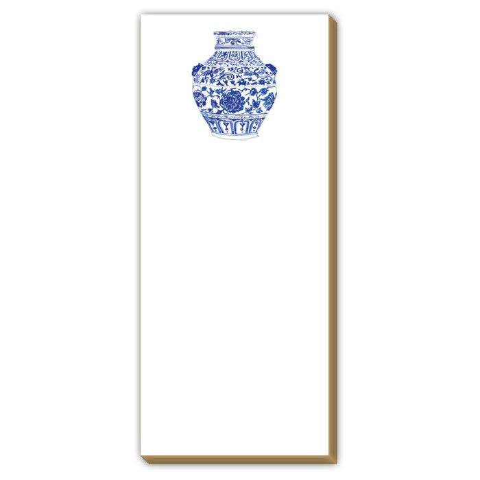 BLUE AND WHITE POTTERY - NOTEPAD