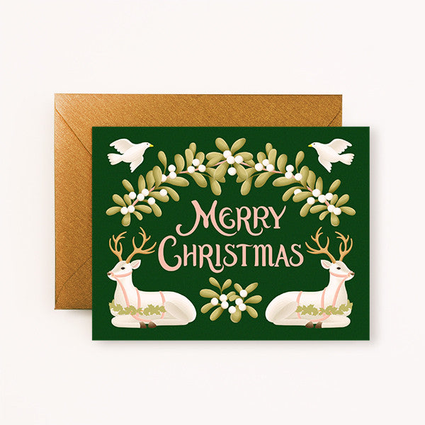 CHRISTMAS CARD - CC - MERRY CHRISTMAS