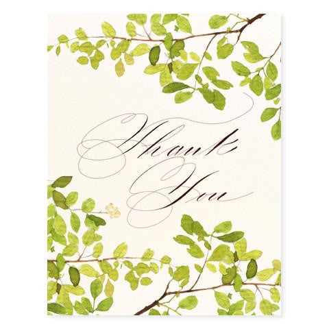 SCRIPTED THANK YOU - GREETING CARD