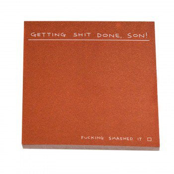 GETTING SHIT DONE - STICKY NOTES