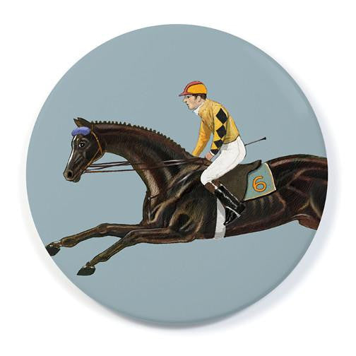 RACE HORSE SIX - POCKET MIRROR