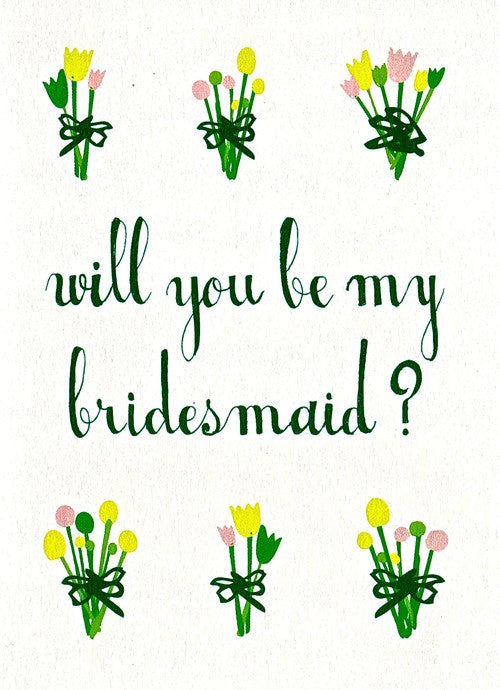 WEDDING - MRB - WILL YOU BE MY BRIDESMAID?