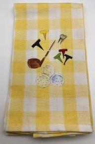 KITCHEN TOWEL - DBB - GOLF TIME
