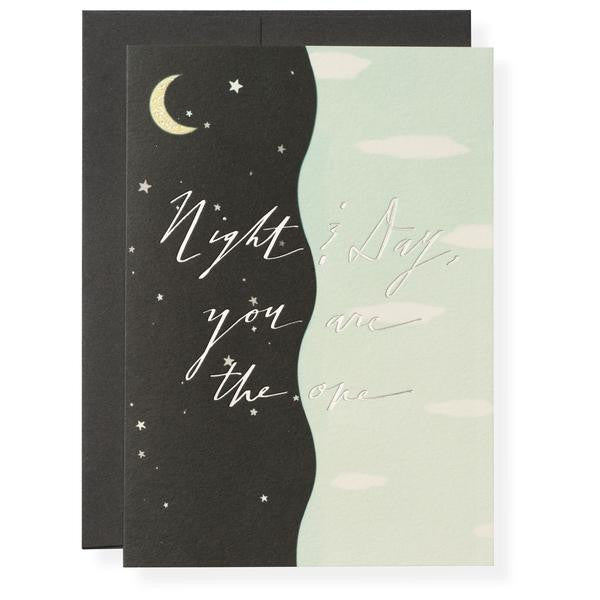 NIGHT AND DAY - ANNIVERSARY CARD