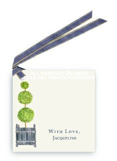TOPIARY - GIFT TAG