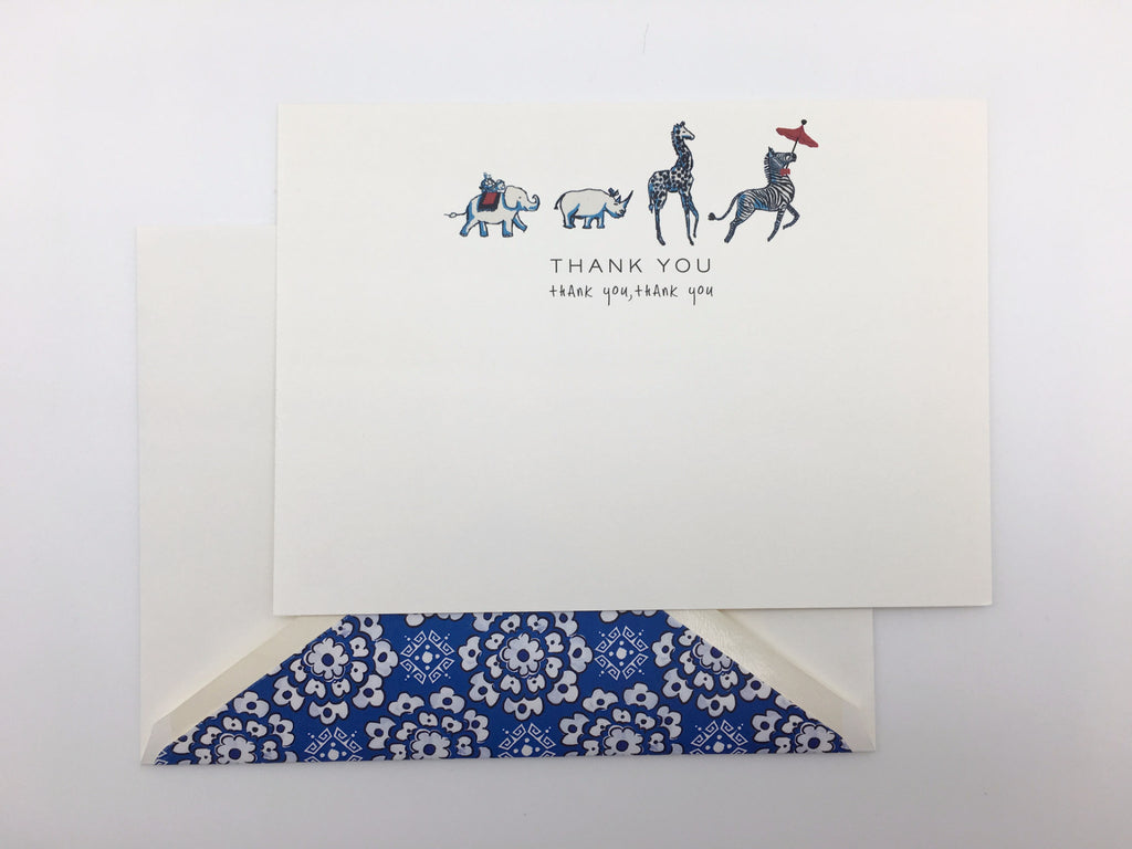 ANIMAL PARADE - THANK YOU NOTE