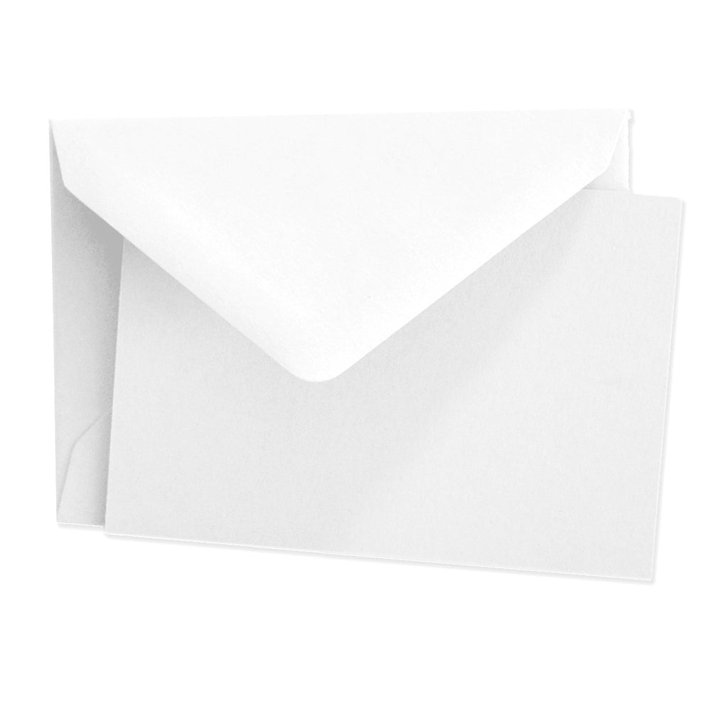 BOXED NOTE CARDS - OCM - WHITE CARDS  SET OF 25 CARDS