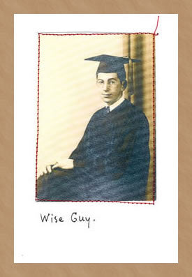 GRADUATION CARD - VT - WISE GUY