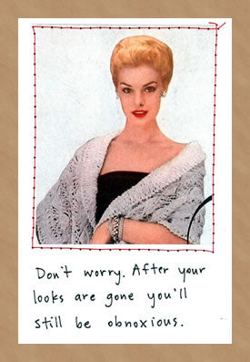 DON'T WORRY - GREETING CARD