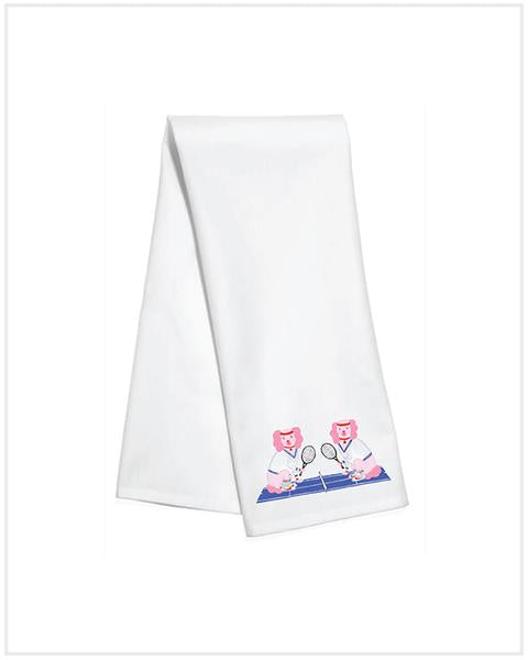 KITCHEN TOWEL - TD - MARTINA & MCENROE - TENNIS