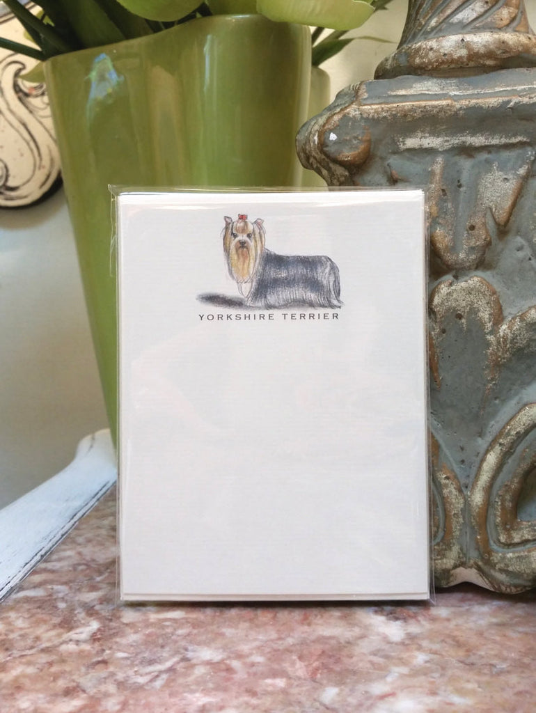 YORKSHIRE TERRIER - NOTE CARDS
