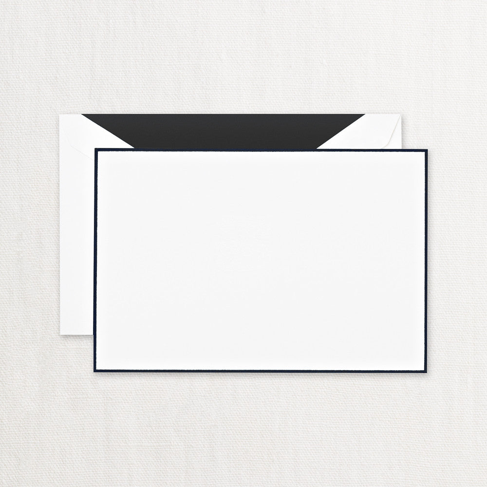 BOXED NOTE CARDS - CCO - BLACK BORDERED