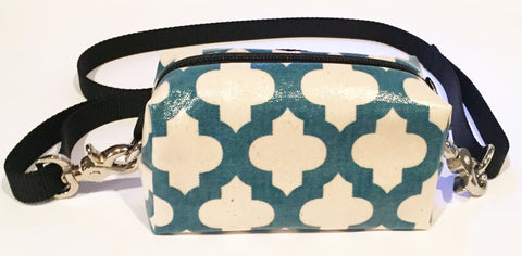 DOGGY DITTY BAG - TLD - BLUE PATTERN