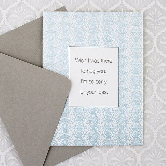 GREETING CARD -CBL- SORRY FOR YOUR LOSS
