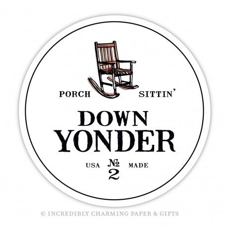 COASTERS - ICPG - SOUTHERN DOWN YONDER SET OF 15 CARDBOARD