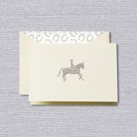 BOXED NOTE CARDS - CCO - EQUESTRIAN NOTE