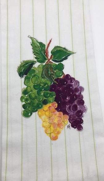 KITCHEN TOWEL - DBB - GRAPE BUNCH