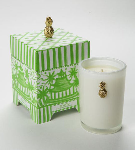 CANDLE - DTHY - 8 OZ BAMBOO
