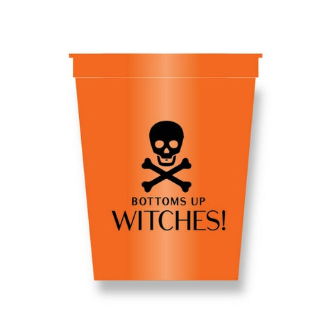 HALLOWEEN STADIUM CUPS - HP - WITCHES