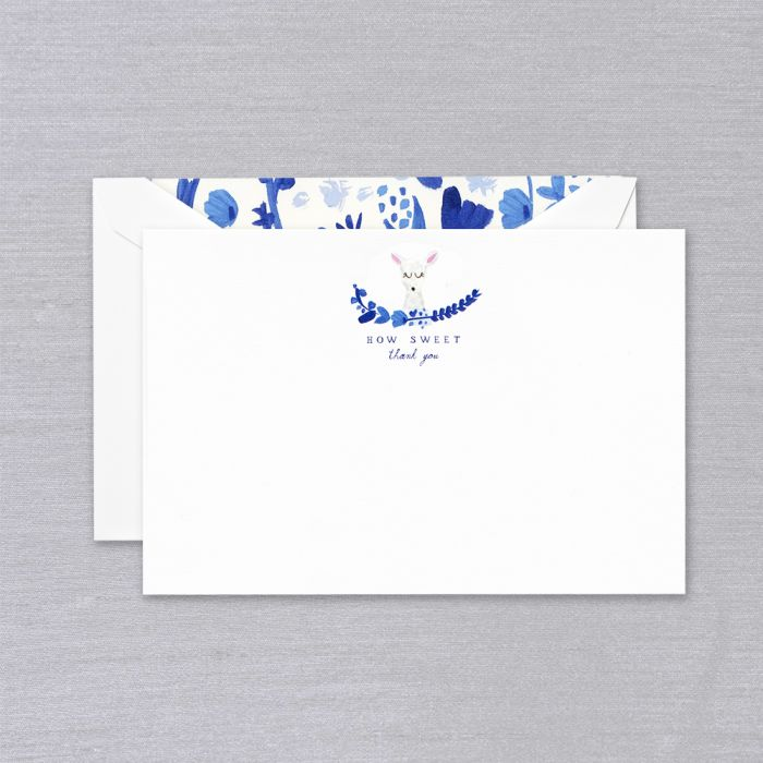 BOXED NOTE CARDS - CCO - HOW SWEET THANK YOU