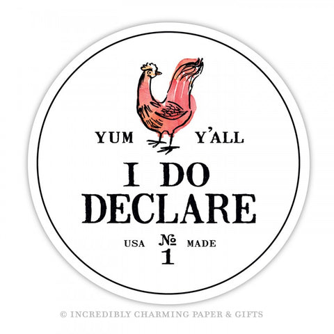 I DO DECLARE - DIGITAL COASTERS 15 PACK
