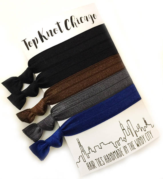 HAIR TIES - TKC - DARK CITY
