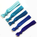 HAIR TIES - TKC - BLUE OMBRE