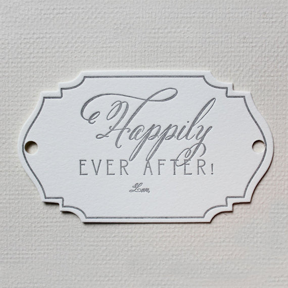 HAPPILY EVER AFTER TAG