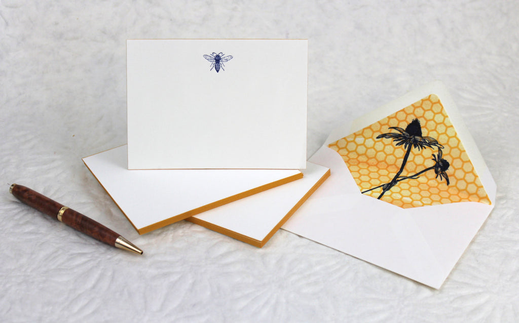 BOXED NOTECARDS- ANC - BEE LETTERPRESS