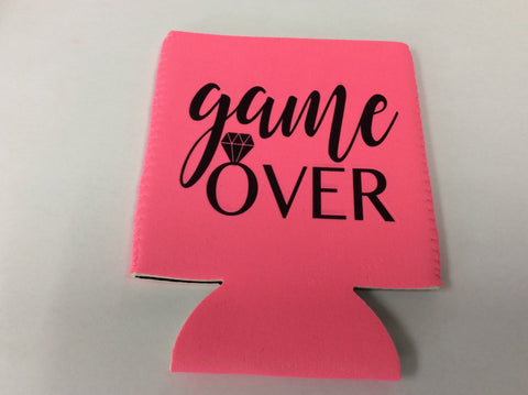 KOOZIE - TPB - PINK GAME OVER