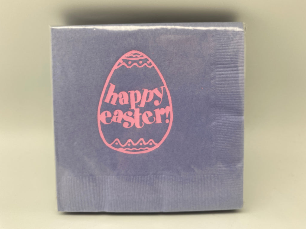 NAPKINS - PA -  EASTER HAPPY EASTER EGG