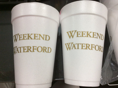 CUPS - SC - WEEKEND WATERFORD