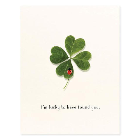 LOVE - FD - LUCKY TO HAVE FOUND YOU