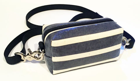 DOGGY DITTY BAG - TLD - NAVY STRIPES