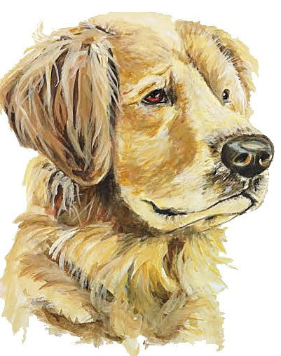 "CARD - PC - ""HONEY"" DOG"
