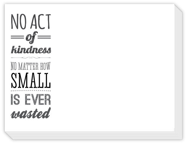 NOTE PAD - RB- ACT OF KINDNESS