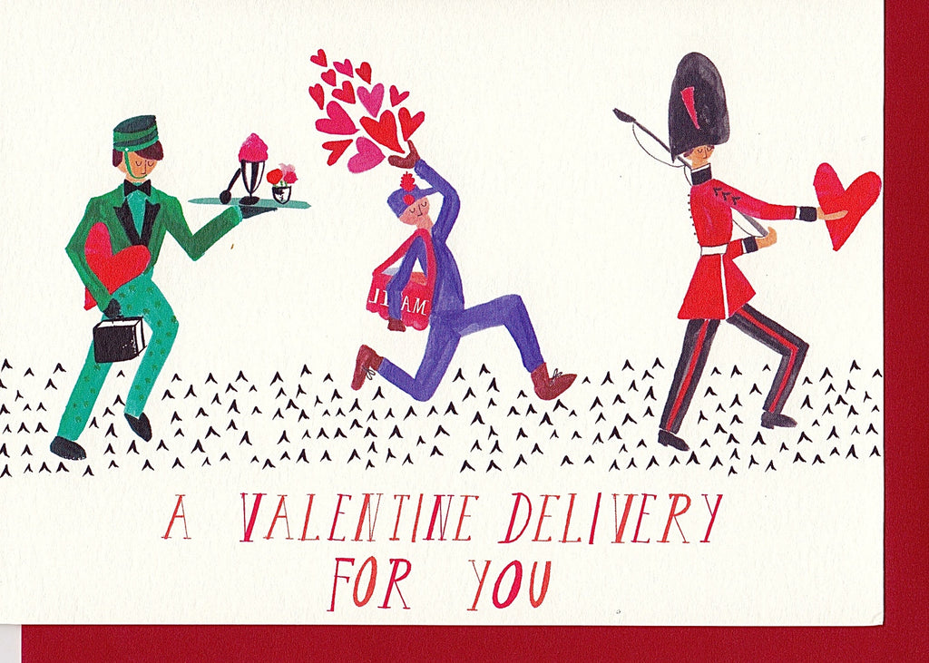 VALENTINE DELIVERY - GREETING CARD