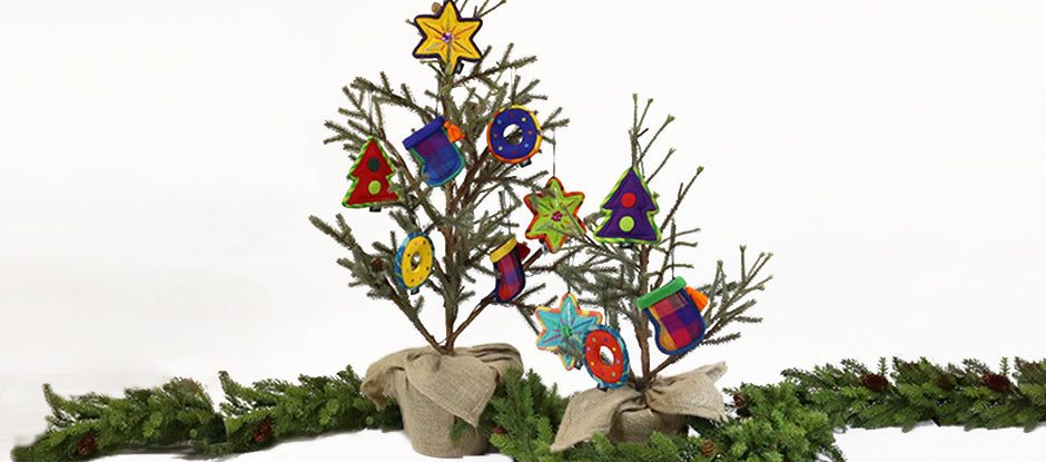 Handmade Fairtrade Christmas Ornaments