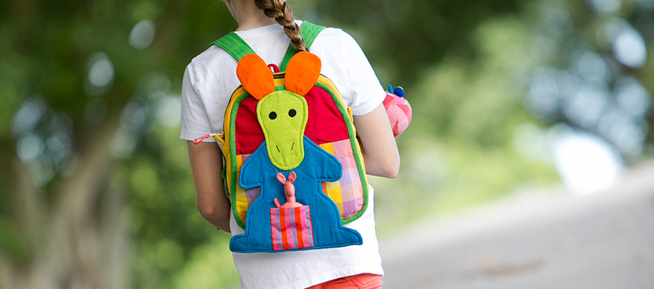 Handmade Kangaroo Backpack