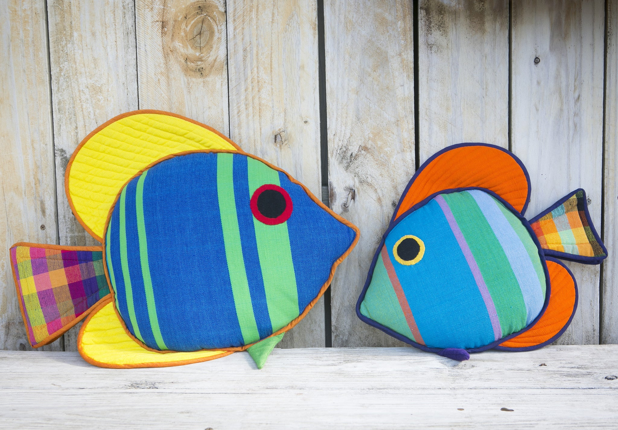 The Sail Fin Fish – Taking a break out of their day! (Henry shown in large size & Cooper in small size)