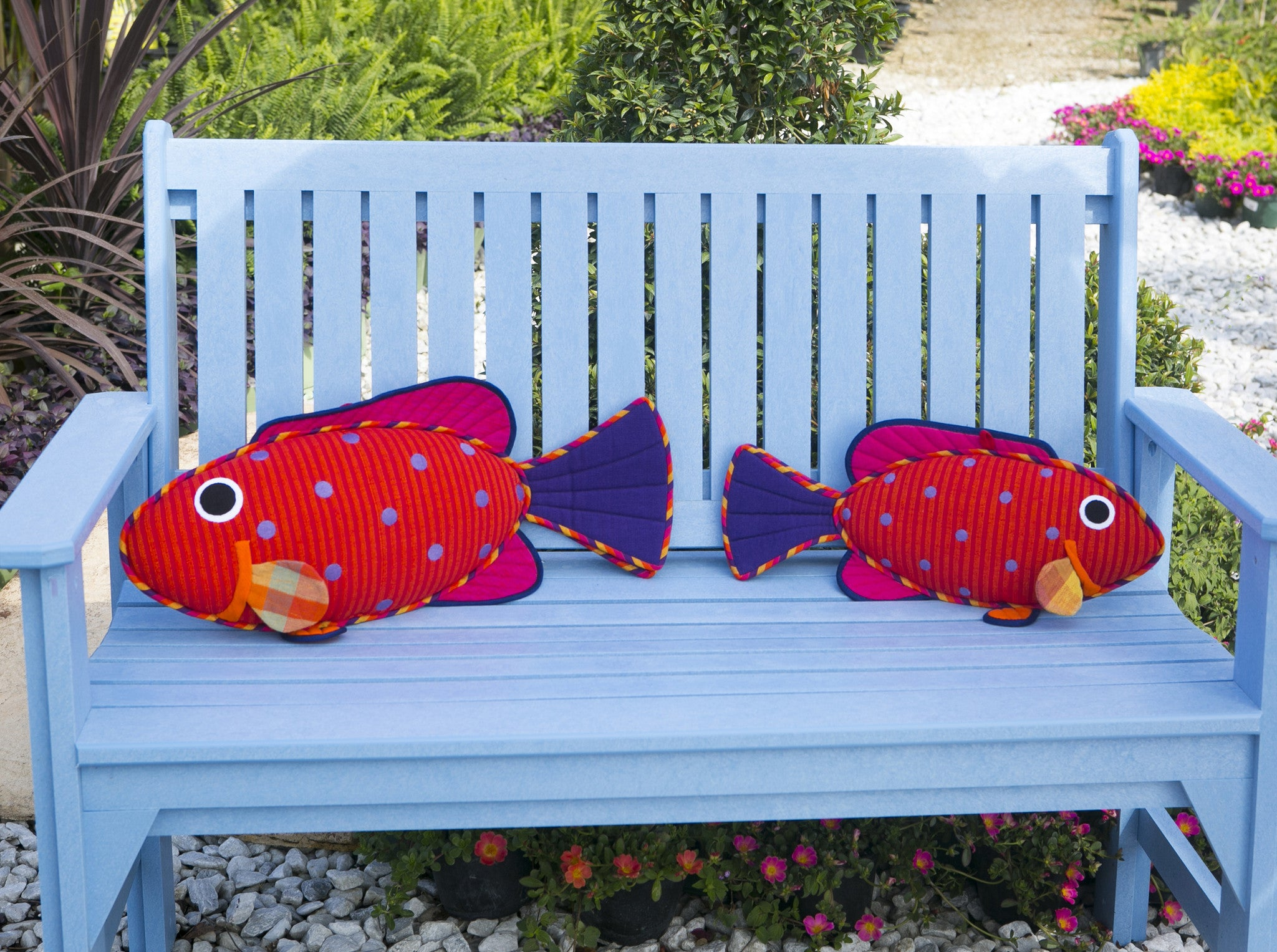 Emma, the Vermillion Rock Cod – Bursting with personality! (small & large sizes)