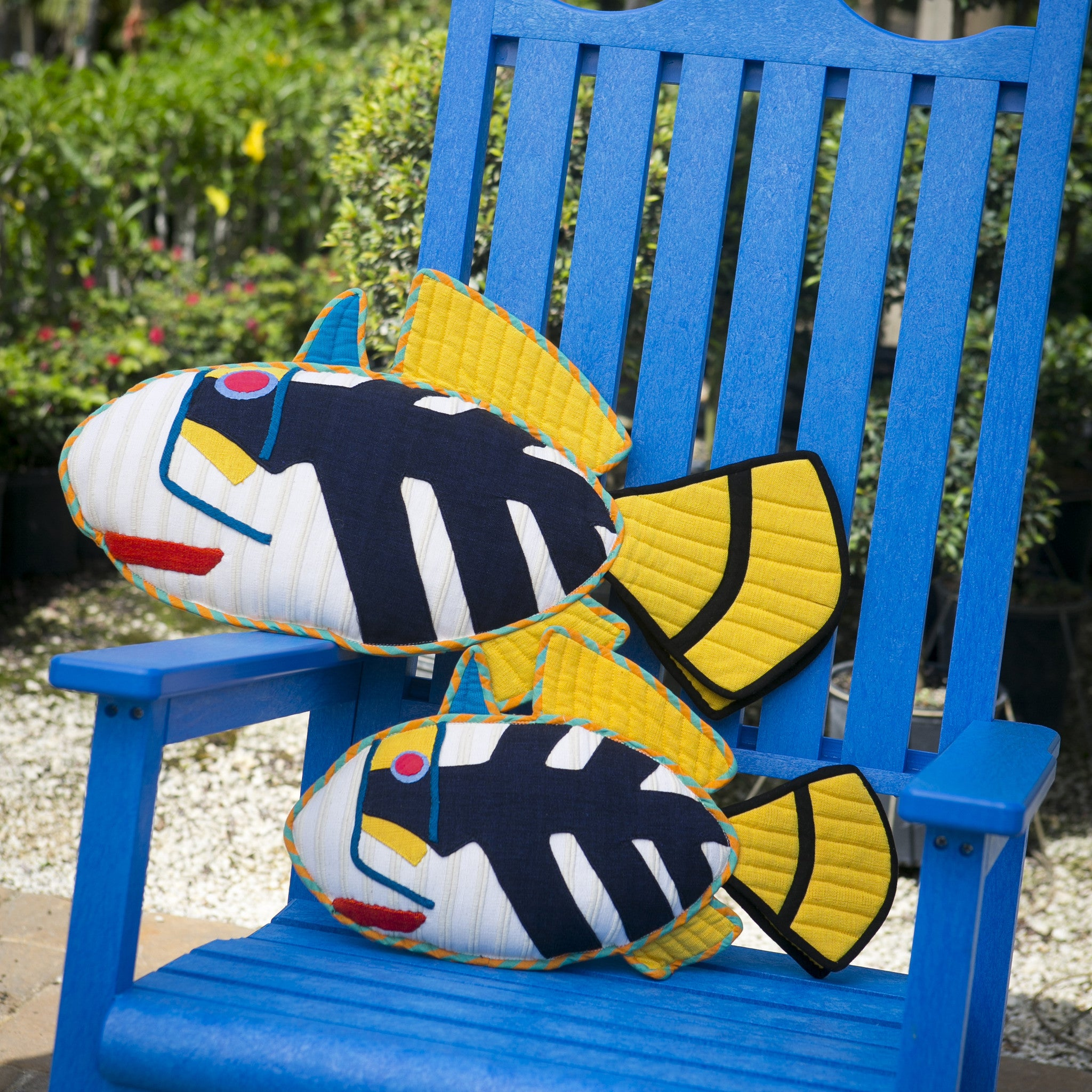 Pepper, the Picasso Trigger Fish – Adding the perfect punch of color! (small & large sizes)
