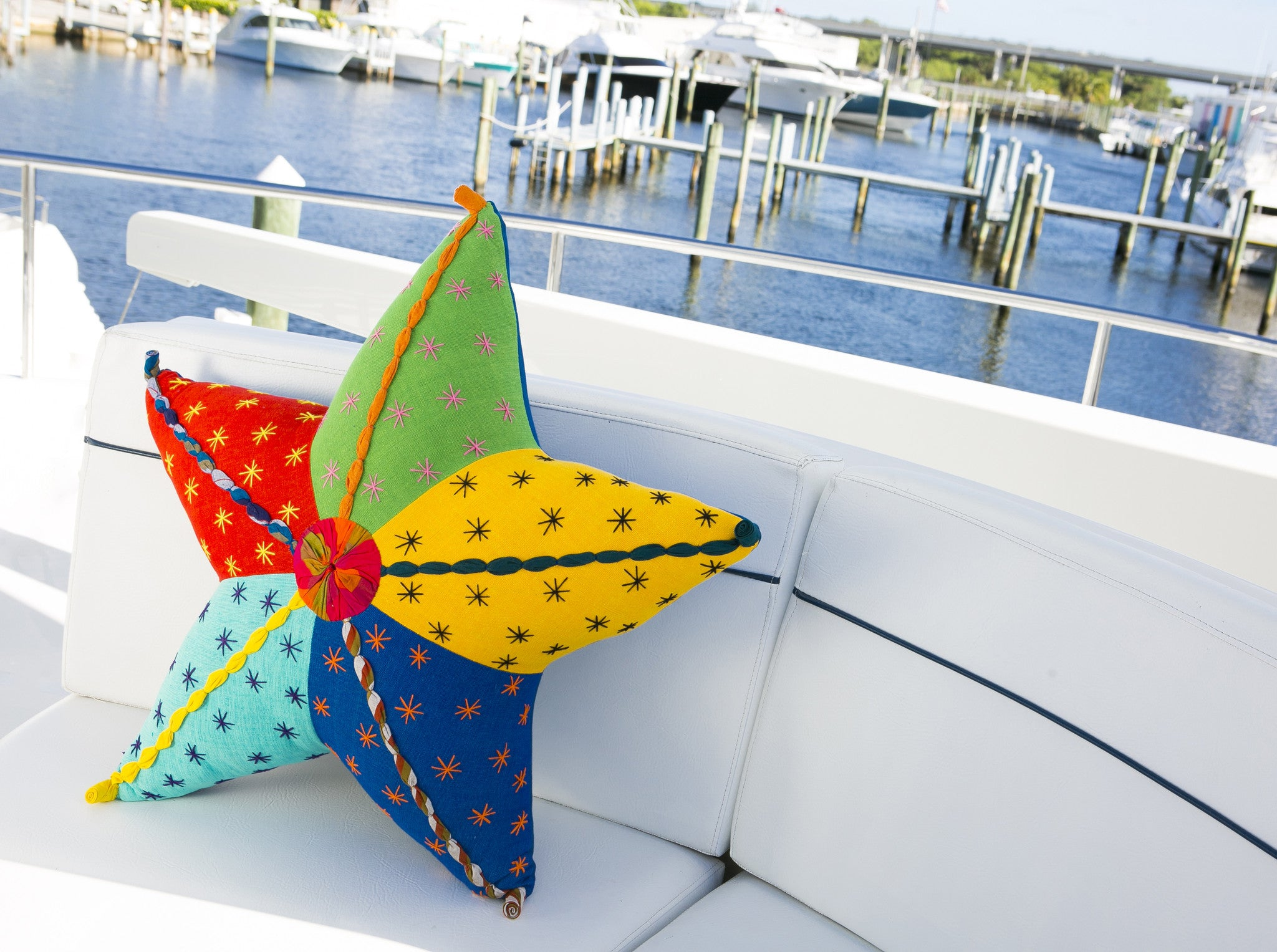 Stella, the Starfish – Adds the perfect punch of color to your boat!