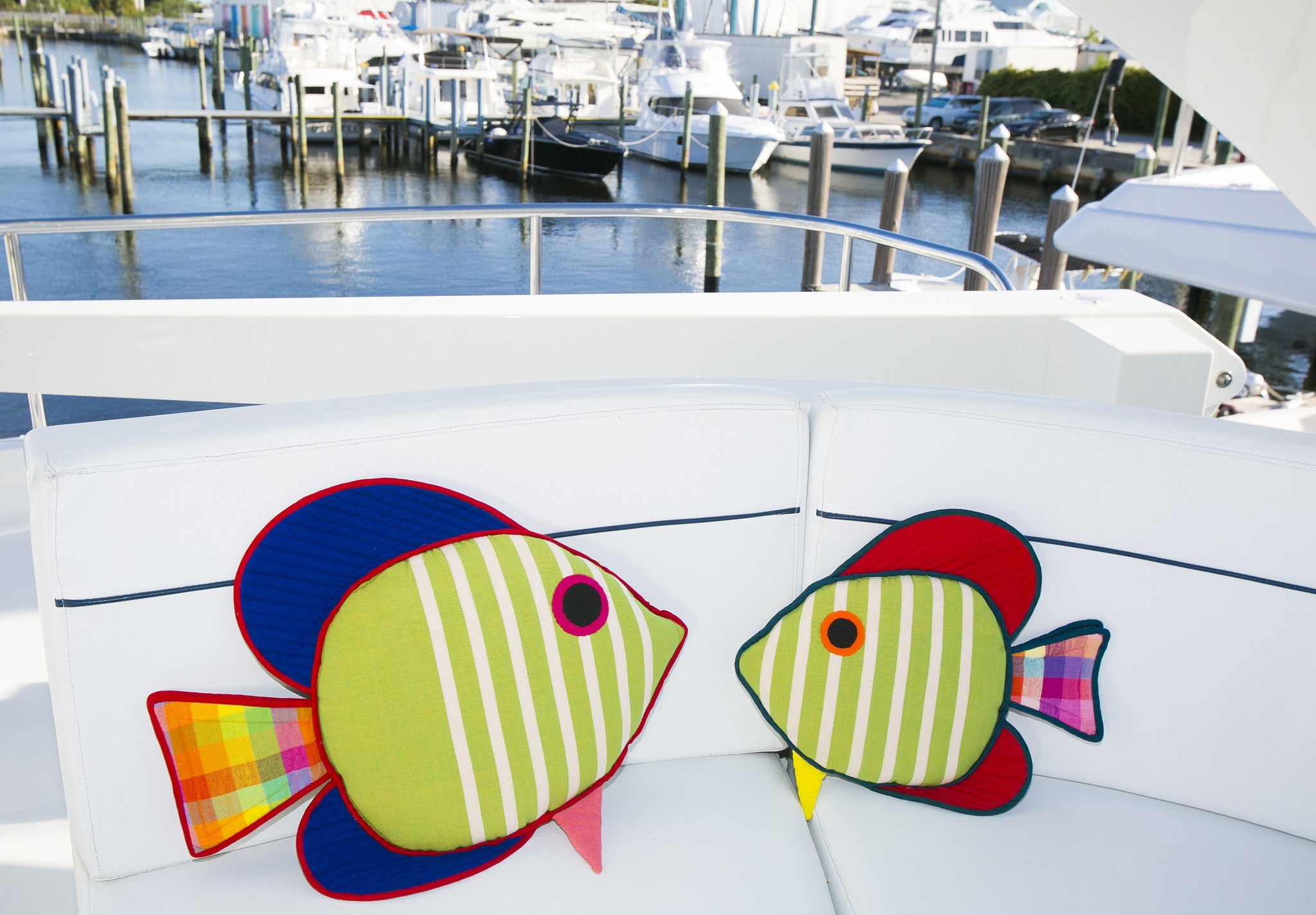 The Sail Fin Fish – Ready to set sail! (Julius shown in both sizes)